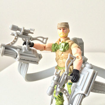 Vintage GI Joe Action Figure - Rock N Roll (V2) - 1980s Hasbro Toy