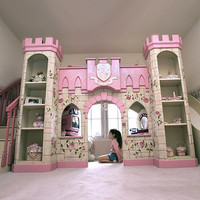 Princess Castle Playhouse Loft Bed : Ultimate Posh at PoshTots