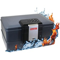 First Alert Waterproof Fire Chest With Digital Lock (0.39 Cubic Ft)
