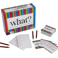 Party Game - What? Original Edition - The Ultimate Laugh Out Loud Board Game