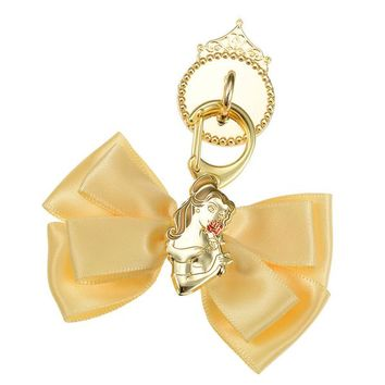 Belle Charm for Smartphone Case Ribbon charming Disney Store Japan Beauty Beast - VeryGoods.JP