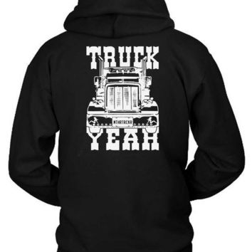 Truck Yeah Hoodie Two Sided