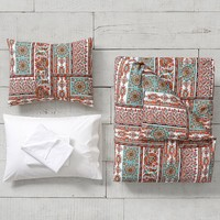 Paloma Paisley Duvet Bedding Set with Duvet Cover, Duvet Insert, Sham, Sheet Set + Pillow Inserts