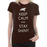 Firefly Keep Calm Girls T-Shirt