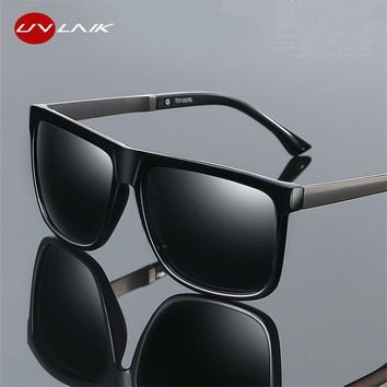 Polarized Men Driving HD Sun Glasses