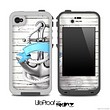 Anchor Vintage V4 Skin for the iPhone 5 or 4/4s LifeProof Case