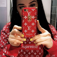 LV 2018 Hot ! iPhone 7 iPhone 7 plus - Stylish Cute On Sale Hot Deal Matte Couple Phone Case For iphone 6 6s 6plus 6s plus For Black Friday