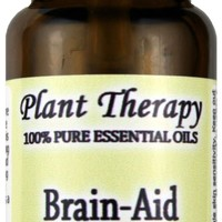 Brain Aid Synergy (for mental focus and clarity). Essential Oil Blend. 10 ml (1/3 oz). 100% Pure, Undiluted, Therapeutic Grade.