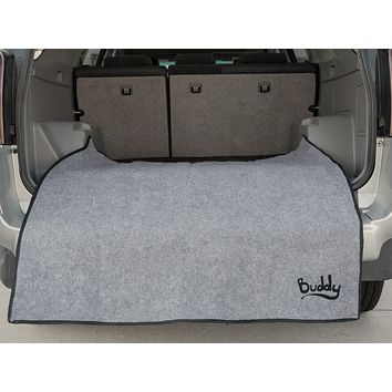 Pay Dirt Car & SUV Accessory Interior/Exterior Bumper Mat and Clothing Guard - Washable/Waterproof