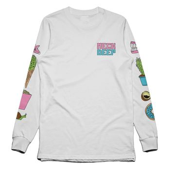 In Bloom Icons White : HLR0 : MerchNOW - Your Favorite Band Merch, Music and More