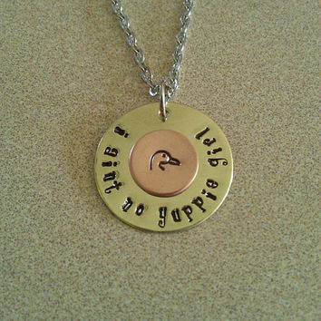 Duck Dynasty inspired Yuppie Girl necklace