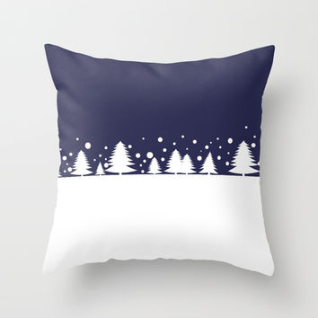 Winter Throw Pillow by Mr And Mrs Quirynen