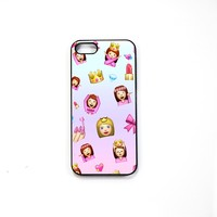 Princess Emojis iPhone Case 5/5S 5C 4S/4