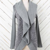 Altar'd State Cozy Combo Waterfall Cardigan | Altar'd State