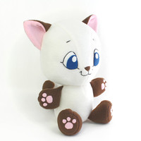 Plush Sewing Pattern PDF - Kitten Cat cute soft toy - cuddly stuffed animal 15""