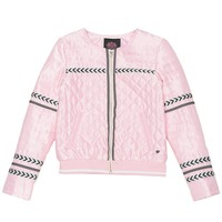Whisper Pink Quilted Jacket by Juicy Couture,