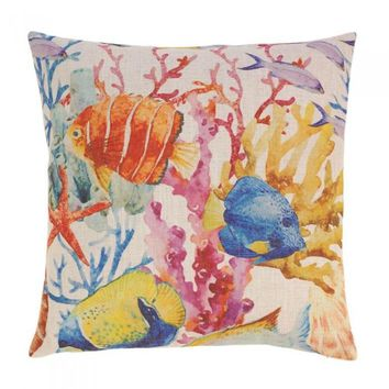 Coral Reef Decorative Pillow Set