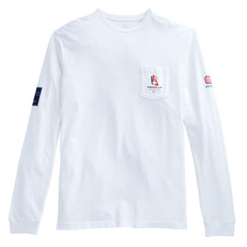 Mens Long-Sleeve America's Cup T-Shirt