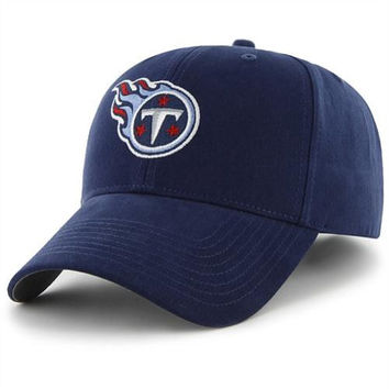 47 Brand Tennessee Titans Youth Basic Logo Structured Adjustable Hat - http://www.shareasale.com/m-pr.cfm?merchantID=7124&userID=1042934&productID=520942632 / Tennessee Titans