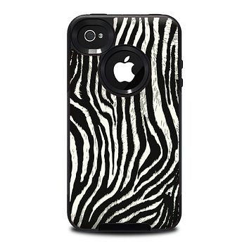 The Real Vector Zebra Print Skin for the iPhone 4-4s OtterBox Commuter Case