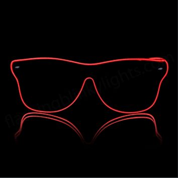 Neon Light Up GLASSES