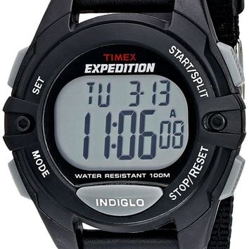 Timex Men's Expedition Full-Size Classic Digital Chrono Alarm Timer Watch