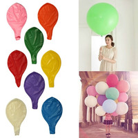 36 Inch Ballon Latex Birthday Wedding Party Helium Decoration Giant Huge Pearl = 1932463108