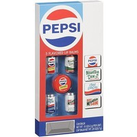 Lotta Luv Pepsi 5 Flavored Lip Balms ~ Throwback Cans