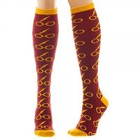 Harry Potter Glasses Junior/Womens' Knee High Socks 1 Pair