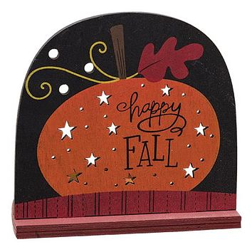Happy Fall Tealight Holder