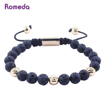 Boys & Men Natural Stone Bracelet