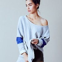 Free People Womens Retro Sport Pullover