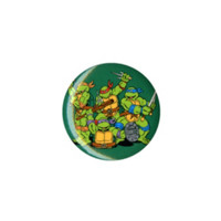 Teenage Mutant Ninja Turtles Group Pin