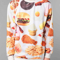 Urban Outfitters - Rook Fast Food Crew Sweatshirt