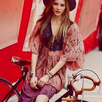 Free People Lovely Lady Kaftan