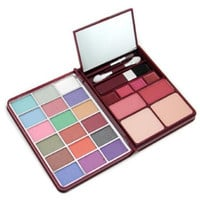 Cameleon Makeup Kit G0139-2 : 18x Eyeshadow, 2x Blusher, 2x Pressed Powder, 4x Lipgloss --- By Cameleon