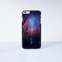 """Star Night Wood  Plastic Phone Case For iPhone iPhone 6 Plus (5.5"""") More Case Style Can Be Selected"""