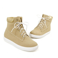 flat ankle boots british  round toe  warm boot leisure botas quality footwear shoes P21086 size 34-39
