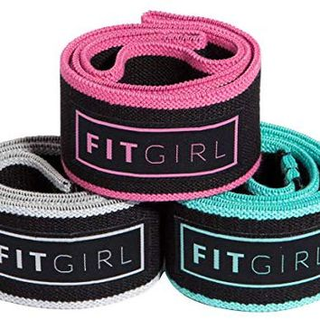 FITGIRL Resistance Hip Band Women - Soft & Non Slip Design Bands