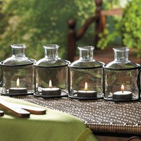 Uncommon Style 4 Candle Tealight Candle Holder