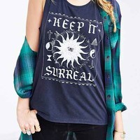Mont La Roc Mineralized Surreal Muscle Tee- Black