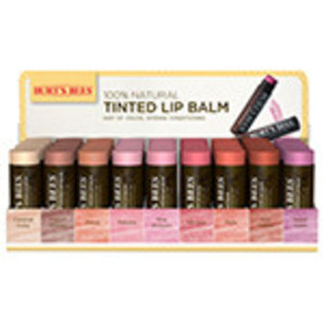 Burt's Bees Lip Color 36-Piece Tinted Lip Balm Display - Displays