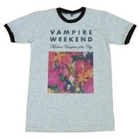 Vampire Weekend floral indie punk rock music T-Shirt / GV58.4 size L