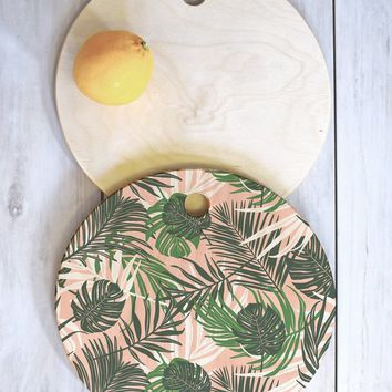 Heather Dutton Hideaway Cutting Board Round