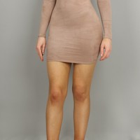 Goals Suedette Mini Dress