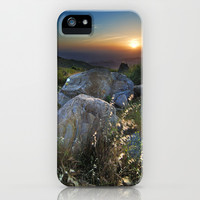 Summer sunset iPhone & iPod Case by Guido Montañés