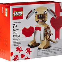 LEGO Bricks & More Valentines Cupid Dog 40201 Building Kit