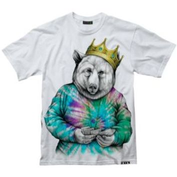 ROOK Biggie Bear Tie Dye T-Shirt - Men's at CCS