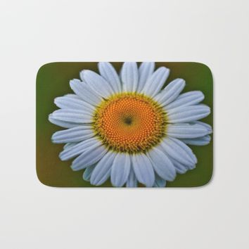 Daisy Bath Mat by Scott Hervieux