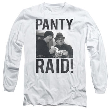 Revenge of the Nerds Panty Raid White Long-Sleeve T-Shirt
